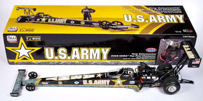 US ARMY-Tony Schumacher, NHRA™ Top Fuel Dragster FOR 2009