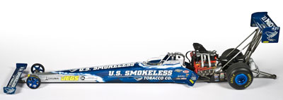 Spencer Massey, NHRA™ Top Fuel Dragster for 2009
