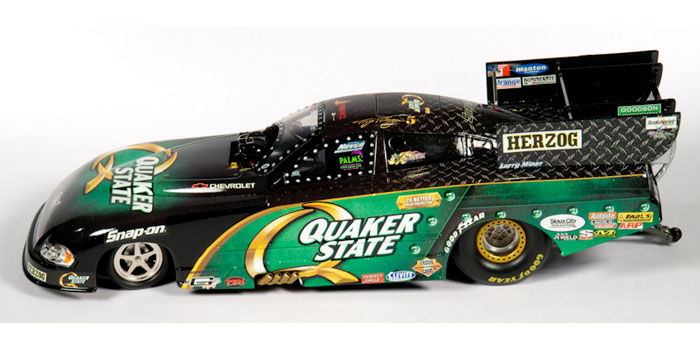 QUAKER STATE-Tony Pedregon, NHRA™ Dodge Charger Funny Car