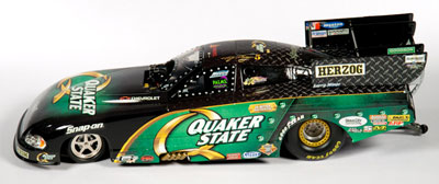 QUAKER STATE Tony Pedregon, NHRA™ Dodge Charger Funny Car