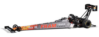 FRAM Cory McClenathan, NHRA™ Top Fuel Dragster