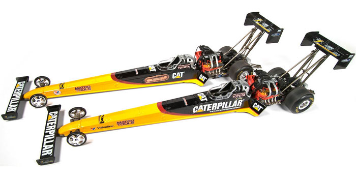 CATERPILLAR-Rod Fuller, NHRA™ Top Fuel Dragster