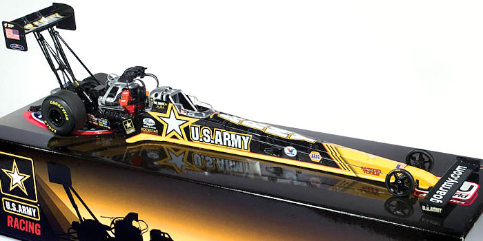US ARMY-Tony Schumacher, NHRA™ Top Fuel Dragster FOR 2008