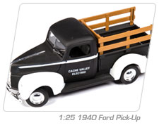 1:25 1940 Ford Pick-Up