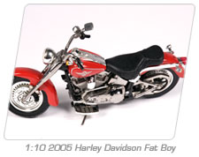 1:10 2005 Harley Davidson Fat Boy