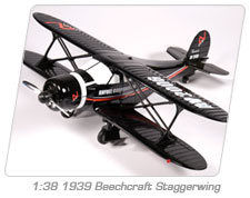 1:38 1939 Beechcraft Staggerwing