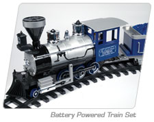 Battery Powered Train Set